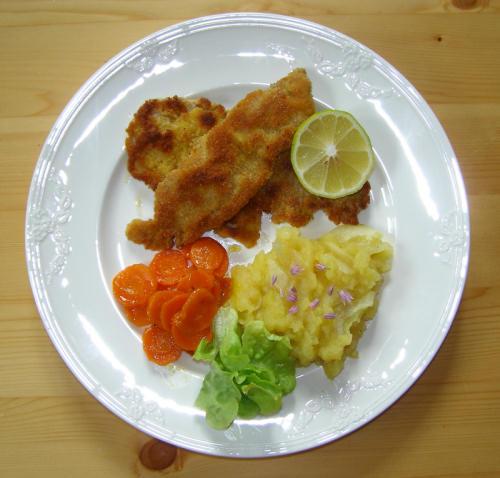 Prächtig Wiener Schnitzel Rezept Schnitzel Wiener Art &HC_11